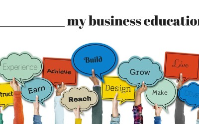 Fill in the blank: What words do you use to talk about your education?