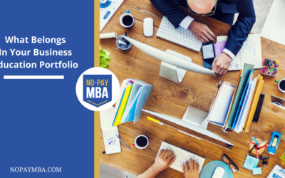What Belongs In Your Business Education Portfolio