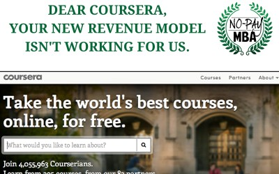 An Open Letter to Coursera