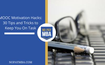 MOOC Motivation Hacks: 30 Tips and Tricks to Keep You On Task