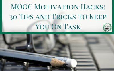 MOOC Motivation Hacks: 30 Tips and Tricks to Keep You On Task