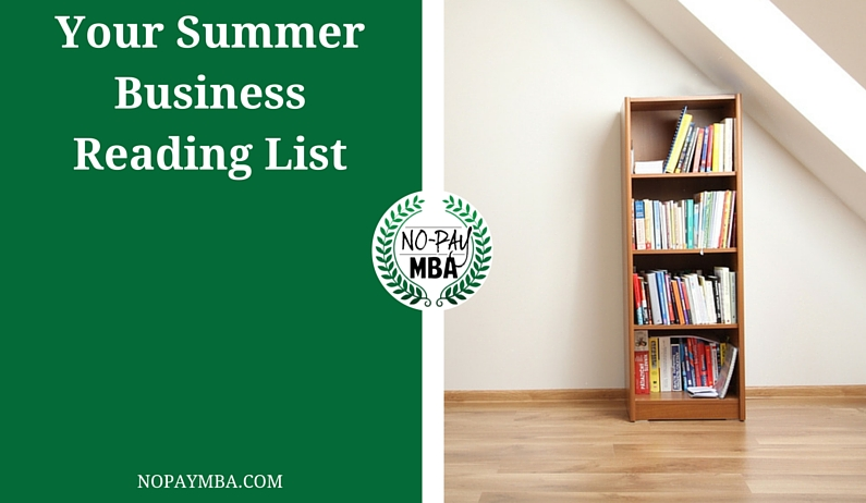 Your Summer Business Reading List