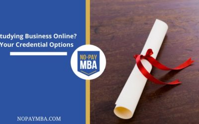 Studying Business Online? Your Credential Options