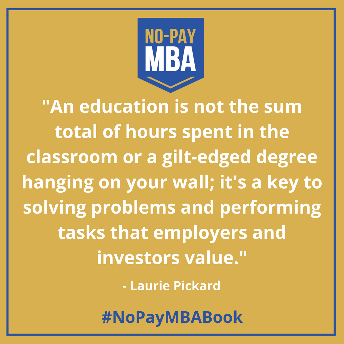 Share Don't Pay for Your MBA