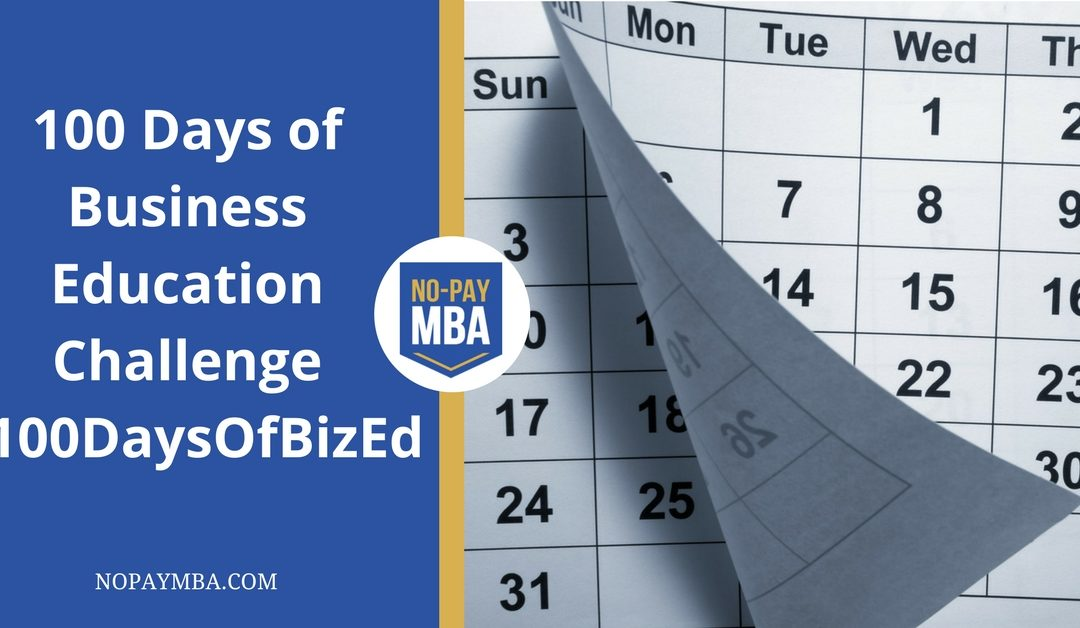 100 Days of Business Education